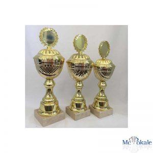Pokale 3er Serie Gold Fire