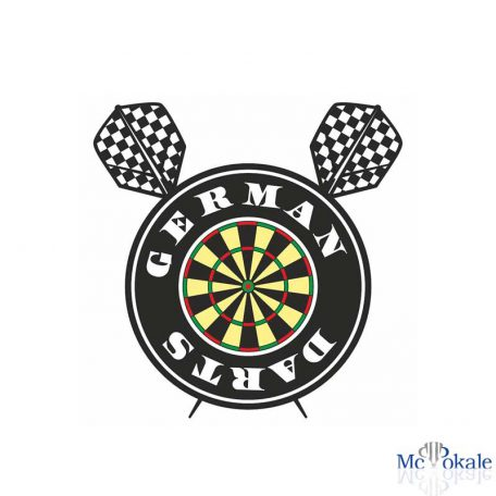 Bedrucktes T-Shirt German Darts