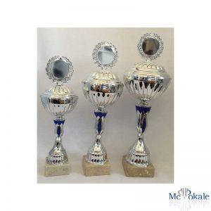 Pokale 3er Serie Silver Blue Line
