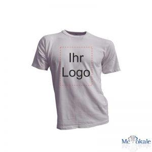 Bedrucktes T-Shirt Schrift Logo