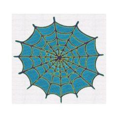 Polo-Shirt Besticktes Spinnennetz