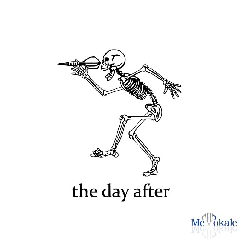 Flex T-Shirt Skelett » McPokale