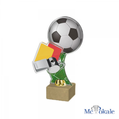 3D Fußball Trophäe Acryl