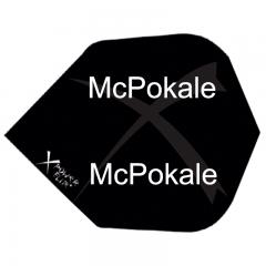 Bedruckte XPowerFlite schwarz Standard Schwarz (20 Sets)