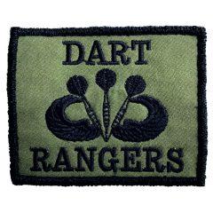 "Aufnäher/Patch ""Dart Rangers"" Farbe Olivengrün"