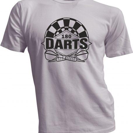 T-Shirt_Schwarz_Weiss_Darts_180_Mai_2020