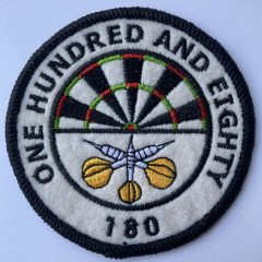 "Aufnäher/Patch ""One Hundred and Eighty"""